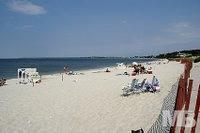 PONQUOGUE BEACH IN HAMPTON BAYS DRIVE 6 MILES